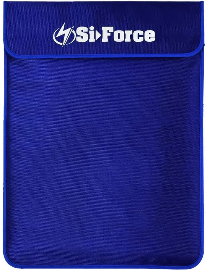 Faraday Bag, SiForce Signal Blocking Bag for Smart Devices, Cell Phone, Tablets, and Laptops 15