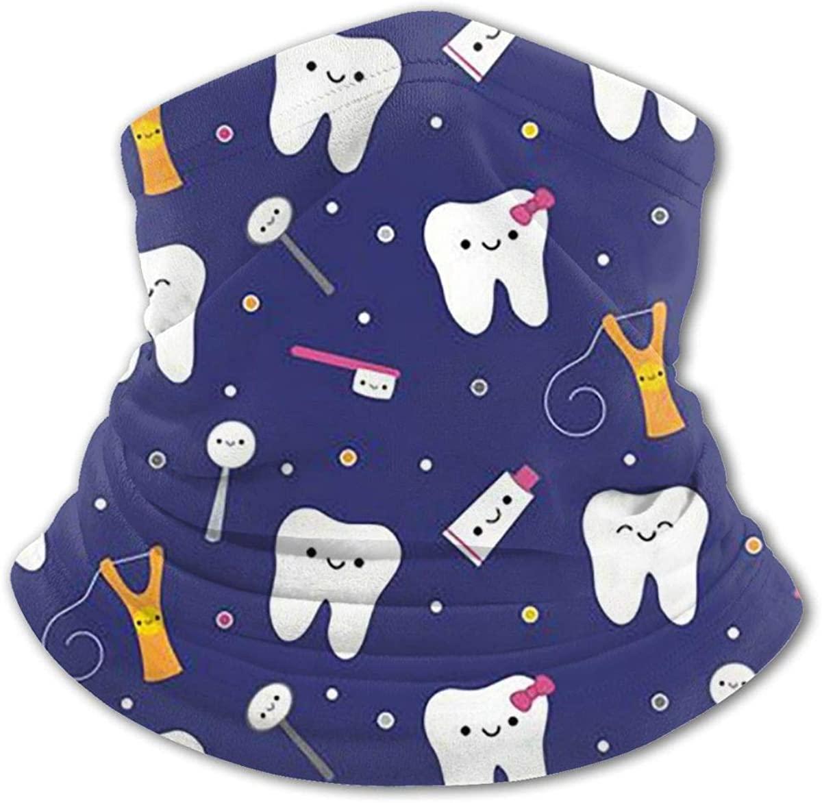 Protect Teeth Headwear For Girls And Boys, Head Wrap, Neck Gaiter, Headband, Tenn Fishing Mask, Magic Scarf, Tube Mask, Face Bandana Mask For Camping Running Cycling
