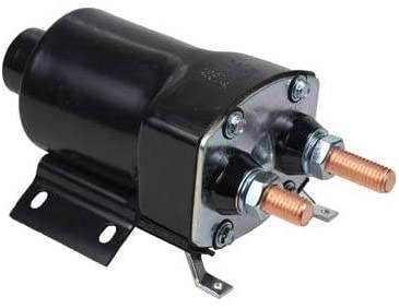 Rareelectrical NEW 12V SOLENOID COMPATIBLE WITH CHEVROLET CLASS 8 TRUCK D9K TITAN DD 6V-71 (N, NE, T) 1979-1980 1114070 1114161 1114163