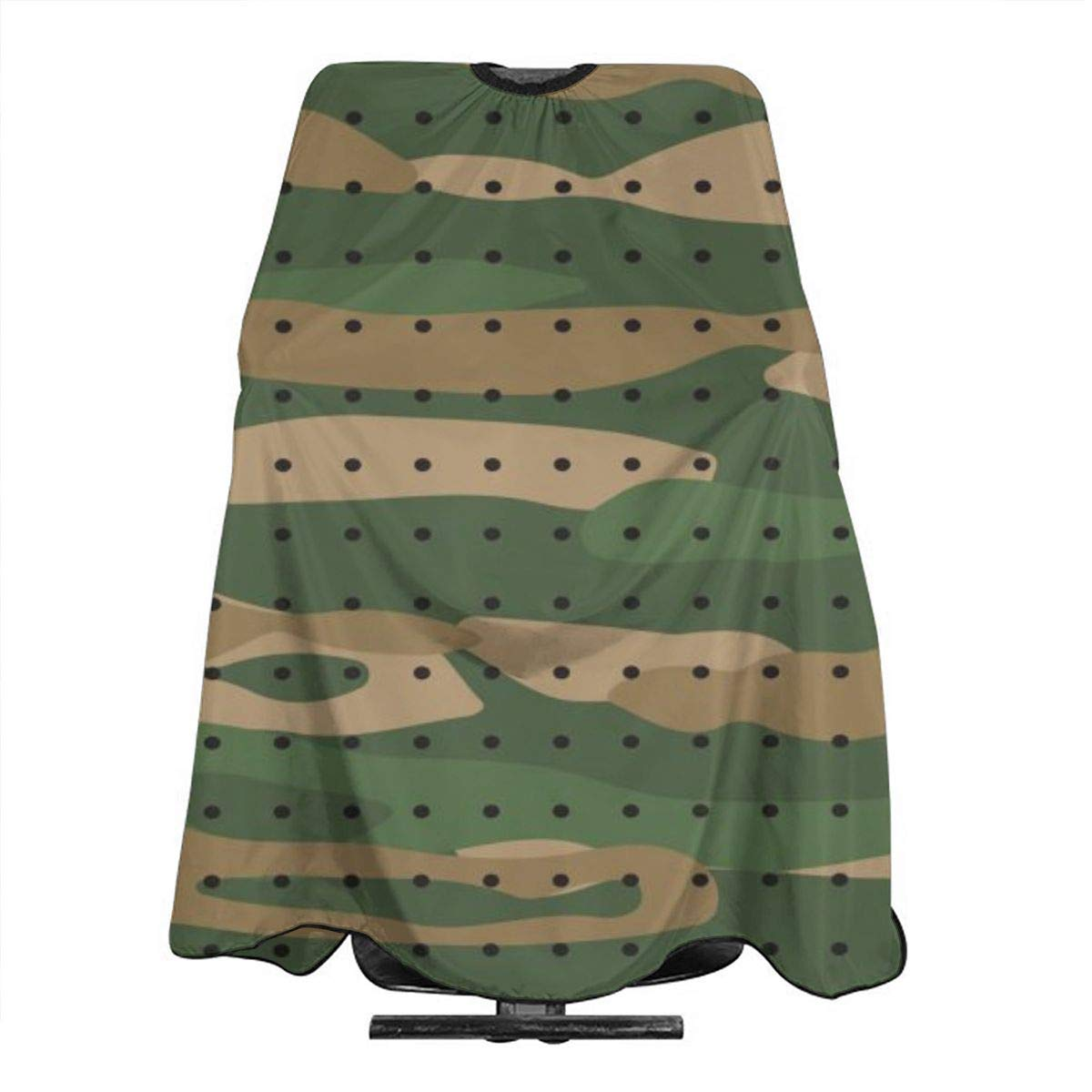 Professional Barber Cape Salon Hair Styling Cutting Haircut Aprons Green Camo Print Capes For Proof Hairdresser Coloring Perming Shampoo Chemical 55
