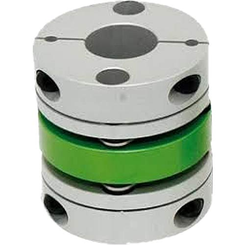 Sungil Machinery Co Ltd SDA-39C Double Disk Type Coupling, High Strength Aluminum Alloy Body, Lengthy Middle Body Type