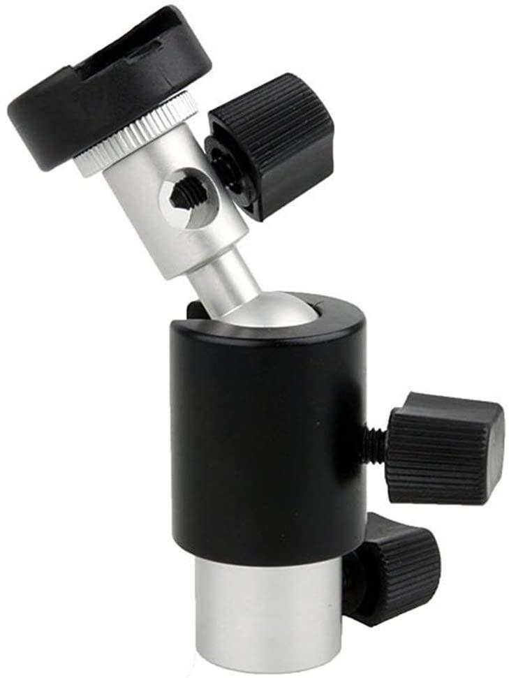 Hot Shoe Umbrella Holder Swivel Flash Light Bracket Stand Mount Adapter for Studio Light Type D