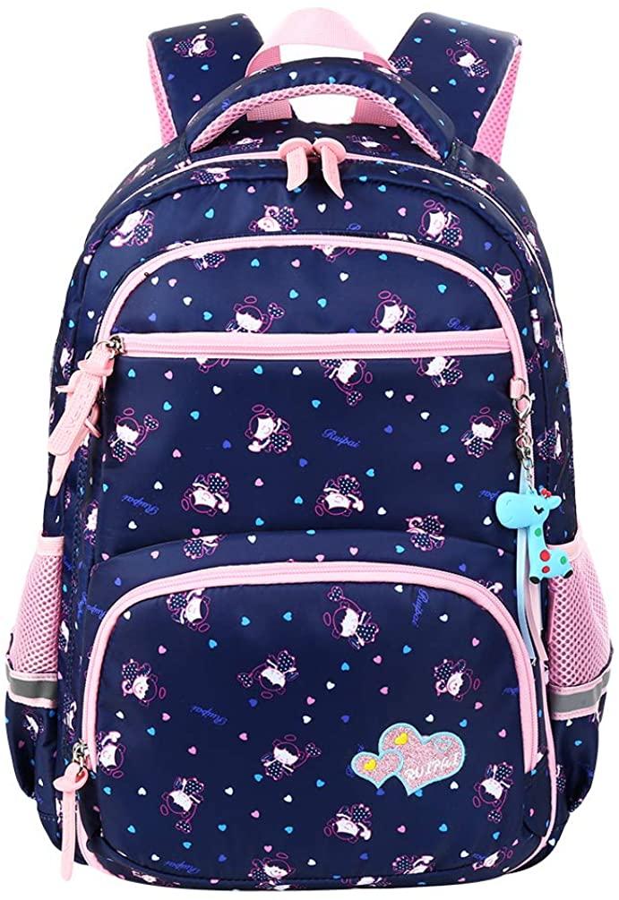 VBIGER School Backpack for Girls Boys, School Bags for Girls Boys Elementary Middle School, Kids School Bag Book Bags