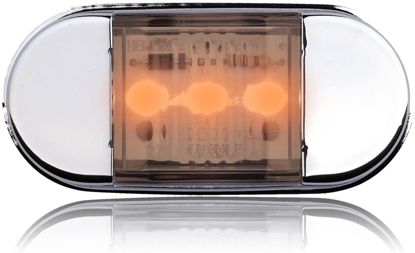 Maxxima (LED-300MBR) Amber 3 LED Courtesy Light