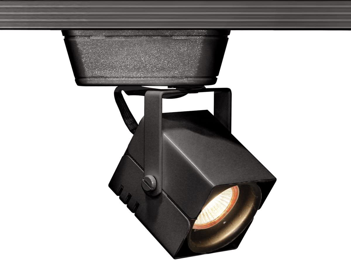 WAC Lighting JHT-801L-BK J Series Low Voltage Track Head, 75W