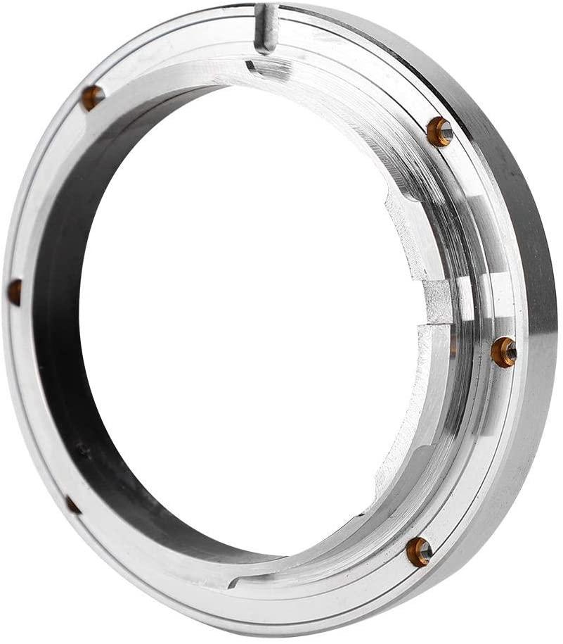 Senyar Camera Adapter Ring LR-MA Copper Lens Mount Adapter for Leica LR Lens to Fit for Sony for Minolta AF MA Camera