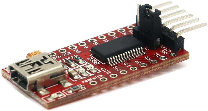 USB to TTL Serial Adapter Converter Module for Ardunio Mini Pro ATMEGA328 ESP8266 Communication with UART