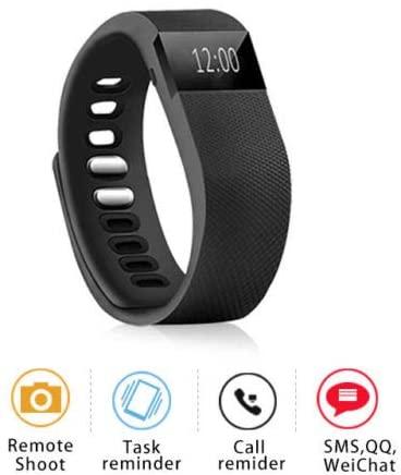 wakatobi Sleep Sports Fitness Activity Tracker Smart Wrist Band Pedometer Bracelet Watch
