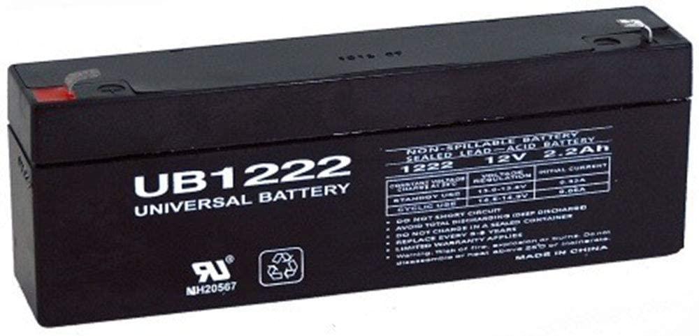 Universal Power Group 12V 2.2Ah Casil CA1223 DSC Alexor System Replacement SLA Battery