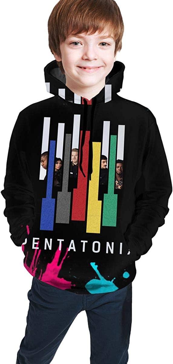 Penta-tonix Teen Hooded Sweater Pocket Boys Girls Sweatshirt Pullover Hoodies