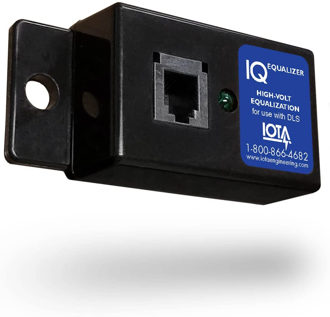 Iota IQ-Equalizer On-Demand Bulk Charging Controller for DLS Battery Chargers