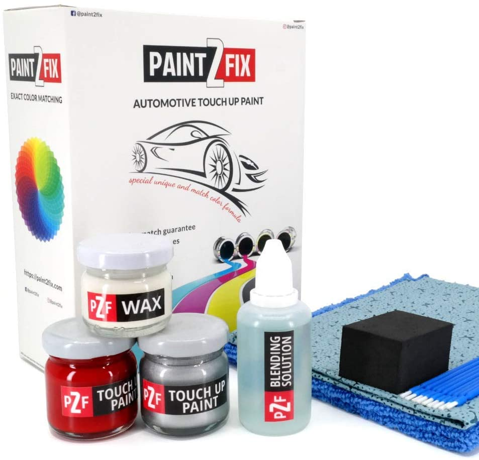 PAINT2FIX Bordeaux Maroon Pearl PMC Touch Up Paint Compatible with Dodge Colt for Paint Scratch and Chips Repair - Color Match Guarantee - Bronze Pack