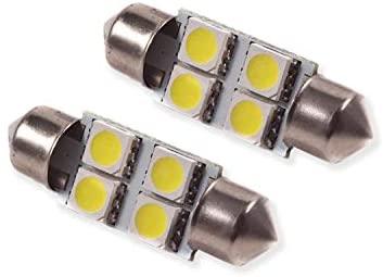 36mm SMF4 LED Bulb Green Pair Diode Dynamics