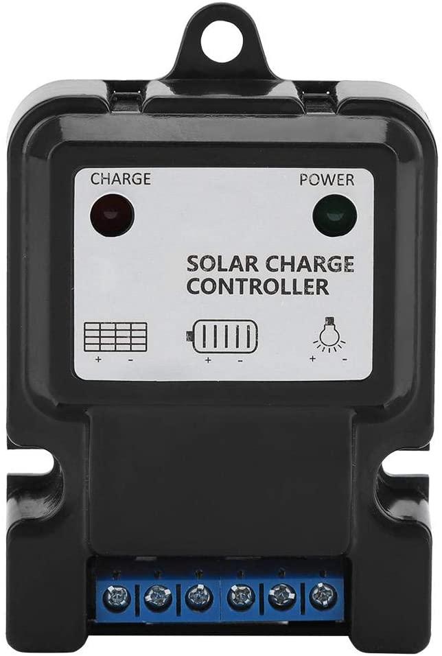 Solar Charge Regulator, PWM Intelligent Solar Energy Regulator Charge Discharge Machine Controller(DHS-3S6V/12V3A)