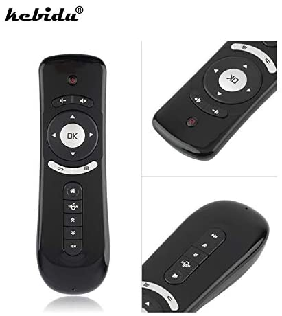Calvas Remote Control 2.4G Wireless 3D Gyro Sense Motion Gyroscope Keyboard USB T2 Fly Air Mouse For Android TV Box Google TV