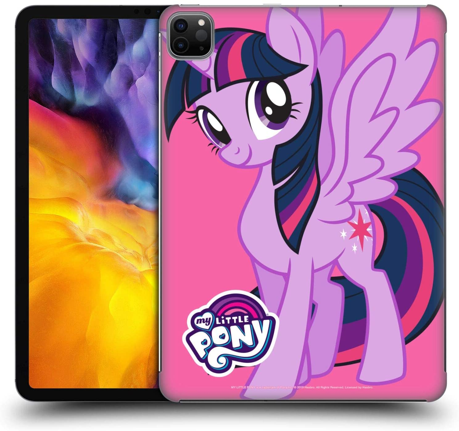 Head Case Designs Officially Licensed My Little Pony Twilight Sparkle Solo Character Art Hard Back Case Compatible with Apple iPad Pro 11 (2020)