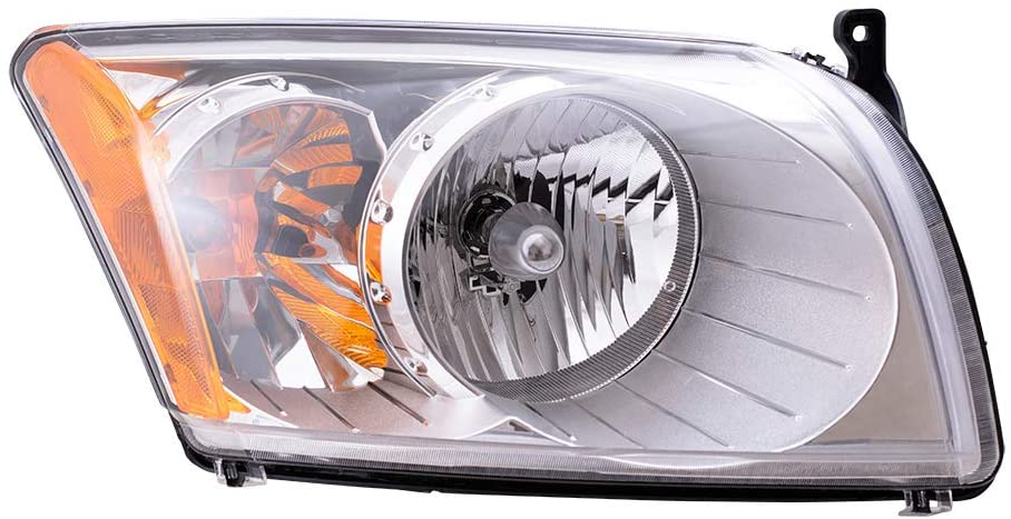Replacement Passenger Headlight Compatible with 2007-2012 Caliber 5303738AJ