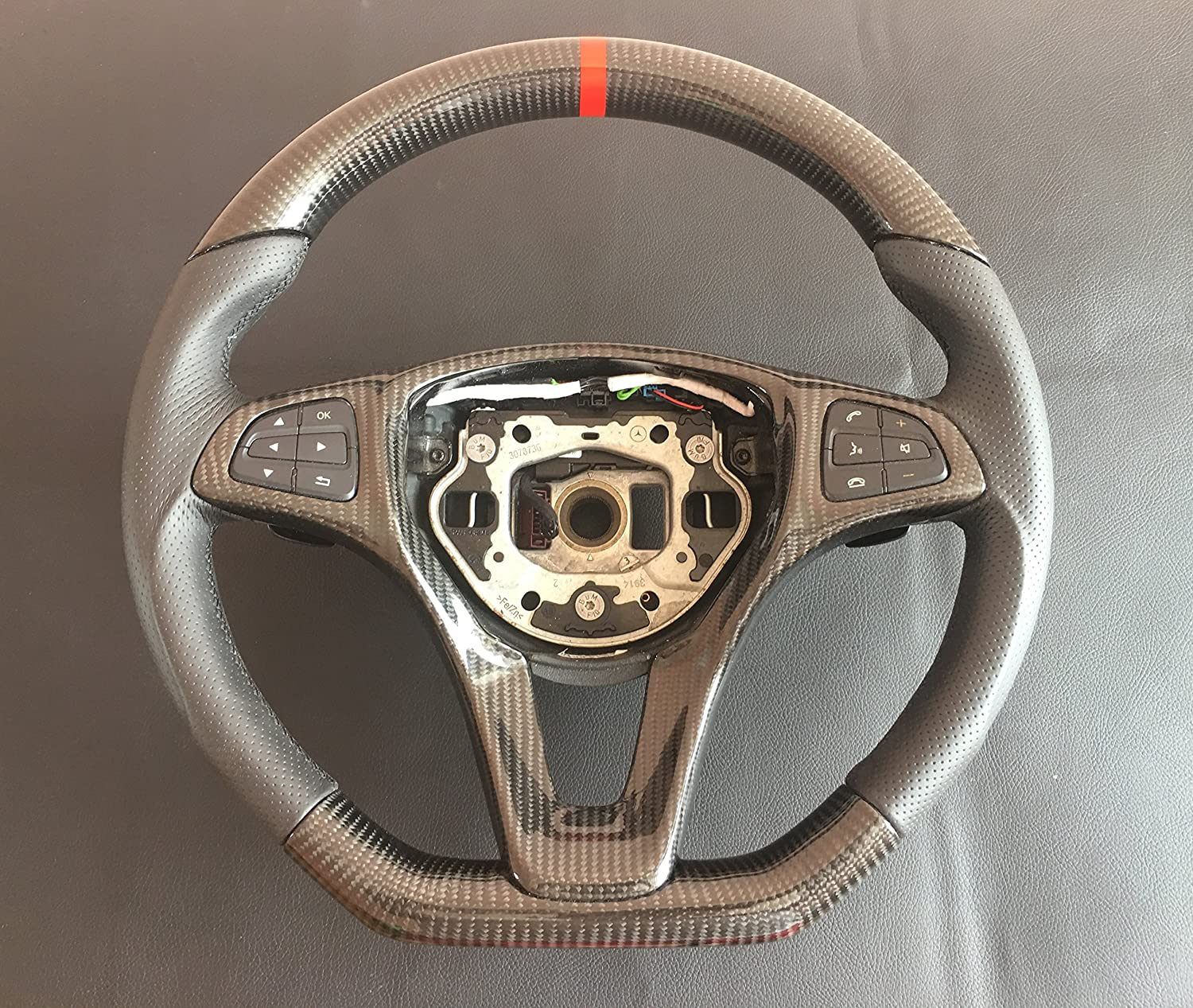 Carbon Fiber Steering Wheel for Mercedes-Benz C-Class W205
