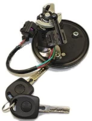 FEILIDAPARTS Rear Boot Lid Tailgate Lock Release Handle Badge for Vw Bora 1.9 Tdi Golf Iv Jetta Glx