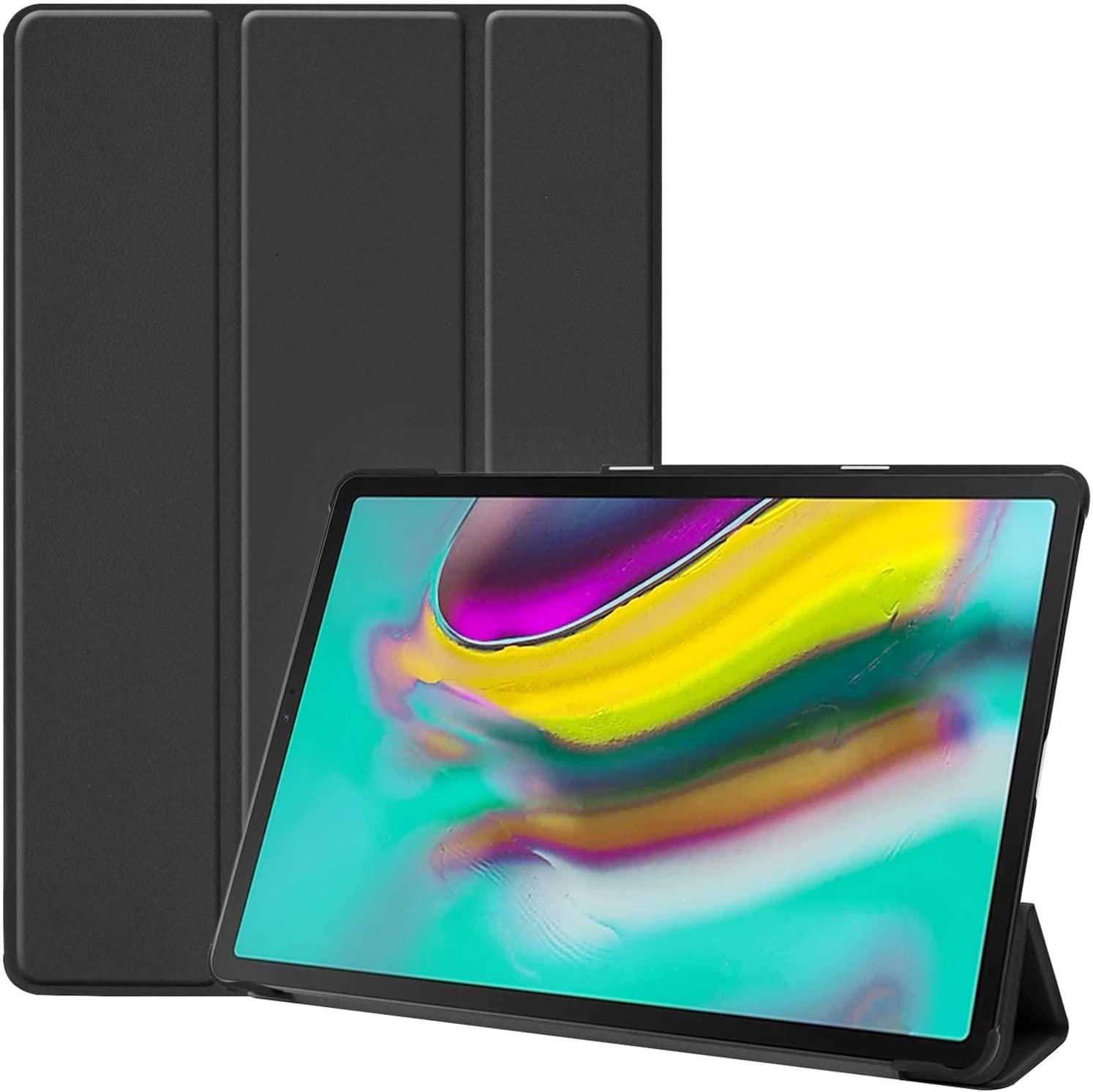 ProCase Galaxy Tab S5e 10.5 2019 T720 T725 T727 Case, Slim Light Cover Stand Hard Shell Folio Case for 10.5 Inch Galaxy Tab S5e Tablet SM-T720 (Wi-Fi) SM-T725 (LTE) SM-T727 2019 Release –Black