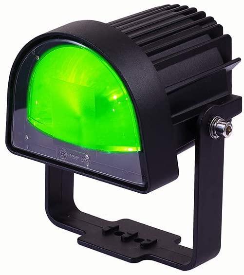 Blue LED Forklift Safety Light for Front of Truck, ARC Pedestrian Safety Green Zone Warning Security Indicator Spotlight 10-80V (Green)