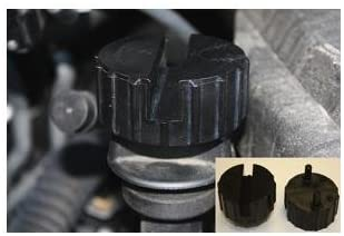 Lock Technology 265 Two Sided Oil Cap Removal Tool