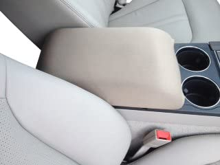 Auto Console Covers- Compatible with The Kia Optima 2006-2009. The Console Cover is not Sold or Created by Kia Motors. Center Console Armrest Cover Waterproof Neoprene Fabric - Tan