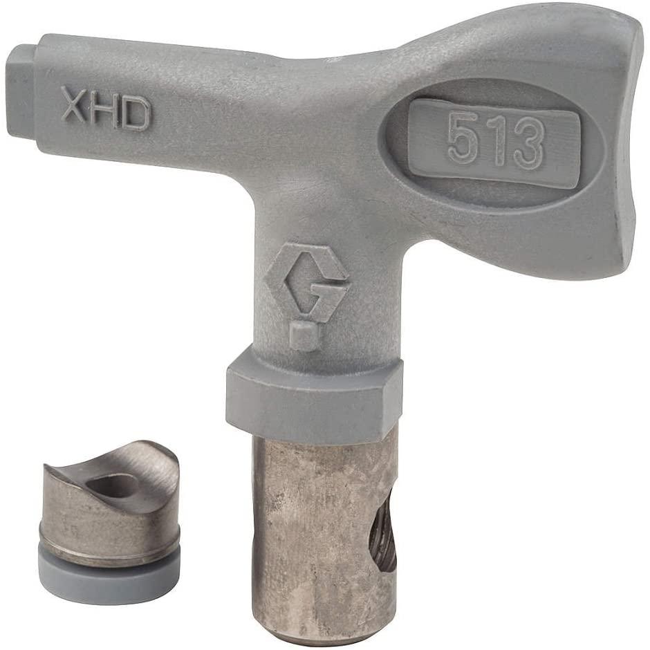 Graco - XHD513-0.013 Tip Size Airless Spray Gun Tip, 10 to 12 Pattern Size, 7/8 Thread Size