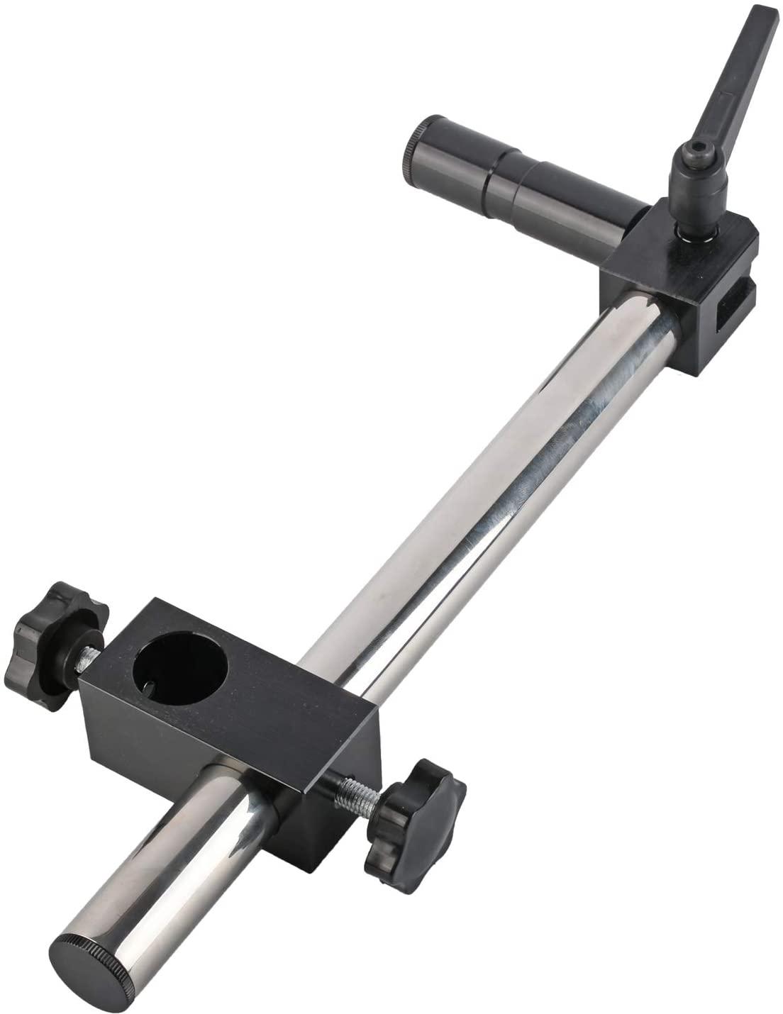 KOPPACE Monocular Microscope Gimbal Bracket 25mm Mounting Interface Microscope Universal Adjustment Bracket Length 420mm