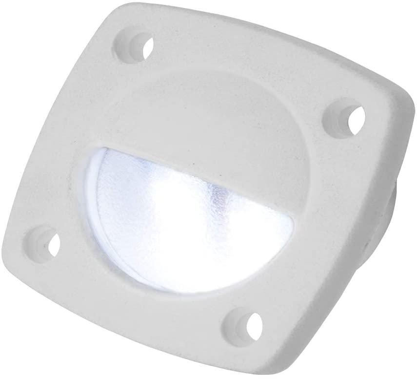 Sea-Dog 401321-1 Delrin LED Utility Light - White with White Light