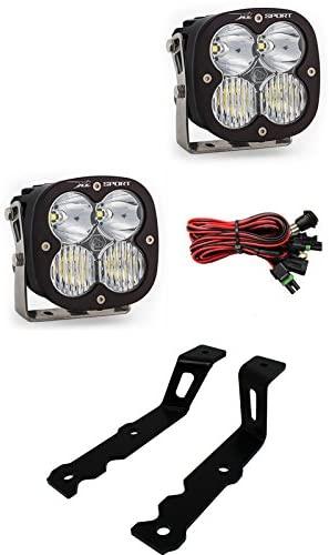 Baja Designs XL Sport Pair Driving/Combo LED Light Kit GMC Yukon 2007-2013
