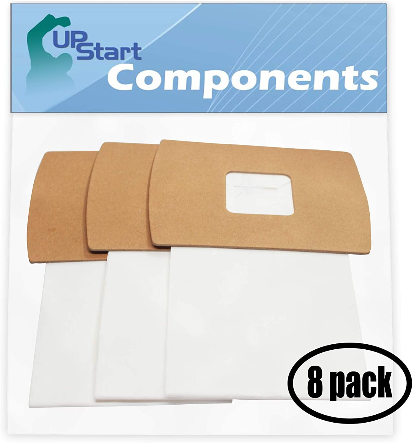 24 Replacement Type BB Buster B Vacuum Bags for Oreck - Compatible with Oreck XL2, Oreck PKBB12DW, Oreck BB900-DGR, Oreck XL PRO 5, Oreck Buster B, Oreck BB280D, Oreck BB870AW, Oreck XL 3, Oreck XL 5, Oreck XL7, Oreck XL8000, Oreck XL9000, Oreck XL9200, Oreck BB870AD, Oreck BB1000, Oreck Type BB
