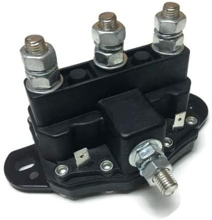 Relay Winch Motor Reversing Solenoid Switch for Snow Plow Salt Spreader 12 Volt