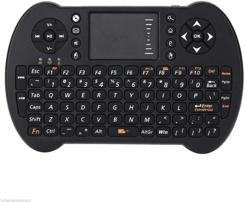Calvas S501 Mini Keyboard Air Mouse Combo 2.4GHz Wireless QWERTY For Computer, Android TV box/phone Optional Russian Version - (Color: Russian keyboard)