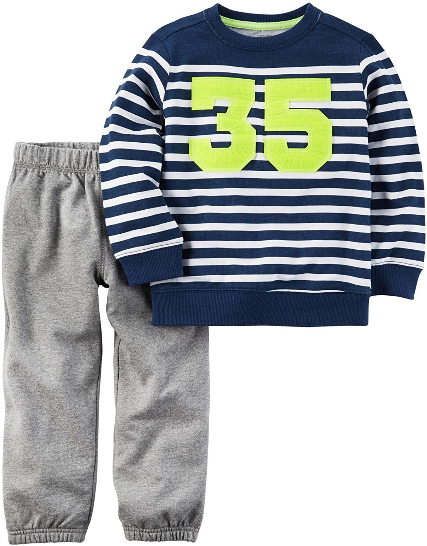 Carter's Boys' 2 Pc Playwear Sets 249g394