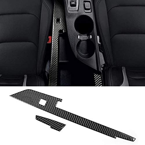 Carbon Fiber Left-hand Driving Center Console Strip Panel Trim Fit for Chevrolet Camaro 2017 2018 2019 Car Accessories