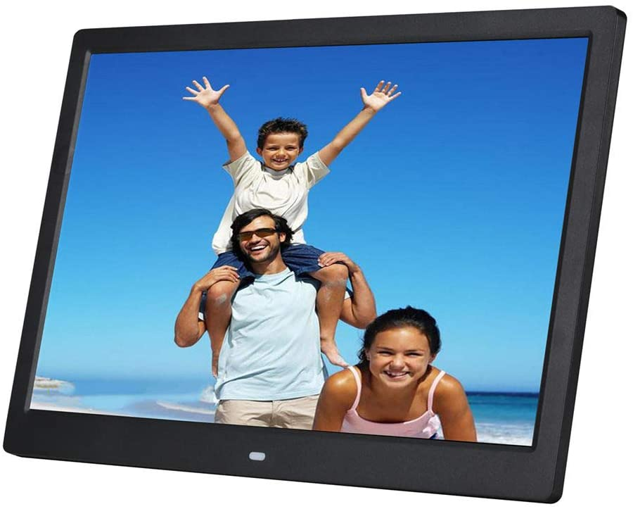 Digital Photo Frame 15 inch LED Display Hi-Res Digital Photo & HD Video Frame with Remote Control