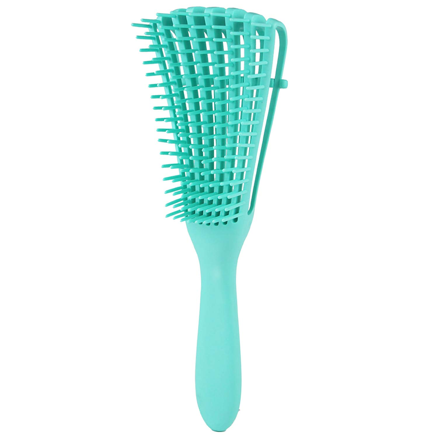 Luxtrip Detangling Brush for Curly Hair,Detangling Brush for Natural Hair-Detangler,for Afro America 3a to 4c Kinky Wavy, Curly, Coily Hair,for Wet/Dry/Long Thick Curly Hair (green)
