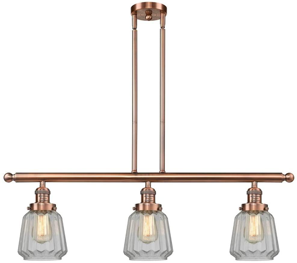 Antique Copper Island Lighting 36