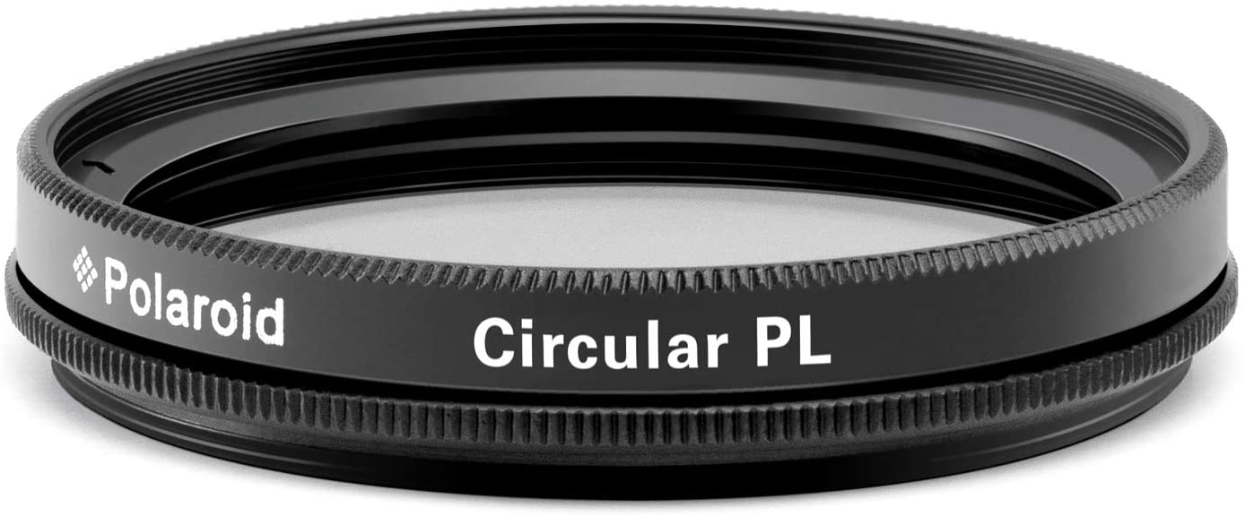 Polaroid Optics 62mm Multi-Coated Circular Polarizer Filter [CPL] For 'On Location' Color Saturation, Contrast & Reflection Control– Compatible w/ All Popular Camera Lens Models