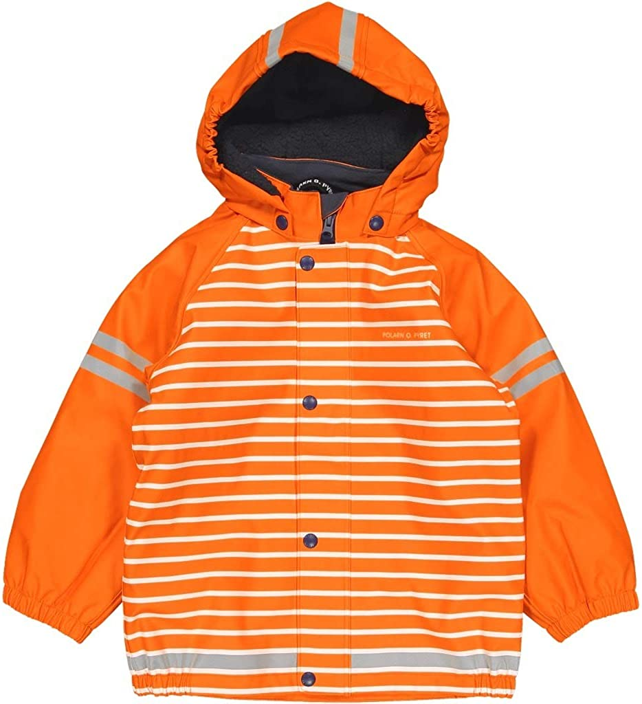 Polarn O. Pyret Pile Fleece Lined Waterproof RAIN Jacket (2-6YRS)