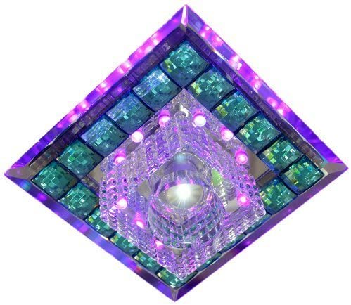 High-Power LED Crystal Aisle Ceiling Lamp (with LED Decorative Background Lamp Beads)