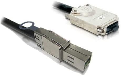 External Mini-SAS HD SFF-8644 to Mini-SAS SFF-8470 Cable, 2 Meter