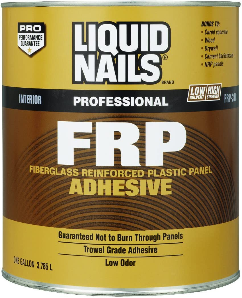 Liquid Nails Frp Adhesive Concrete, Wood, Drywall Boxed 1 Gl