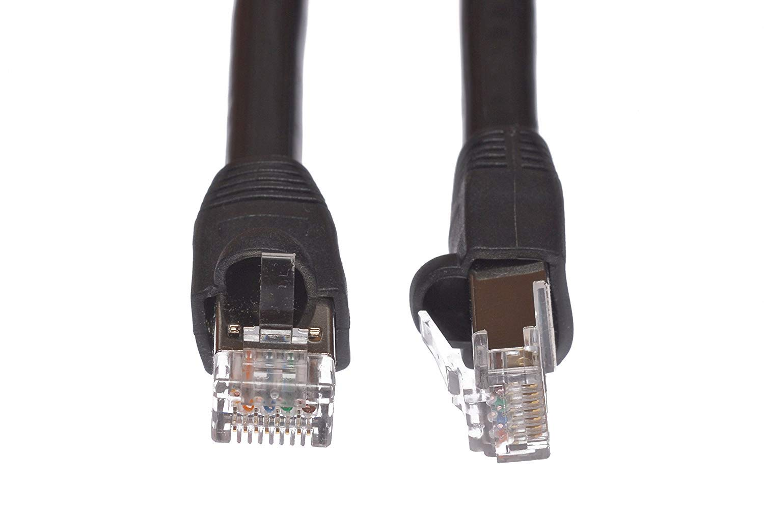 Cables.com Cat5e Outdoor Waterproof Shielded Direct Burial Ethernet Cable (30 Feet)