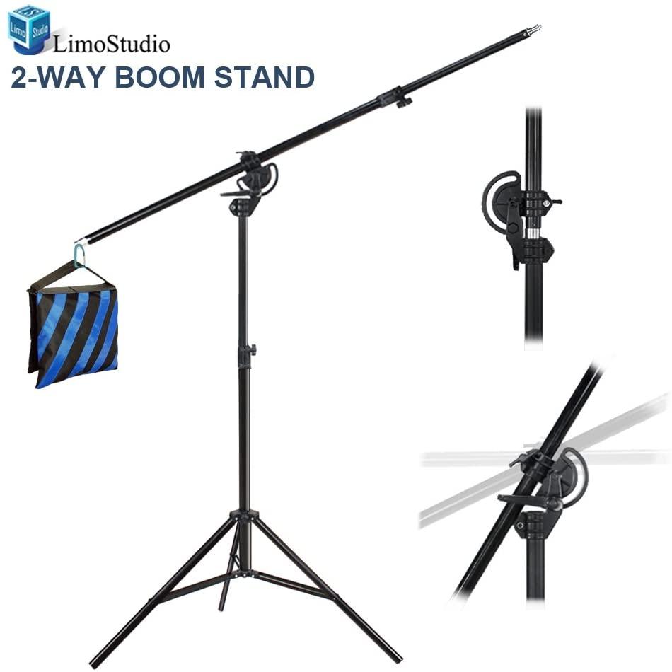LimoStudio Heavy Duty Umbrella Softbox Flash Light Boom Light Stand for Photo
