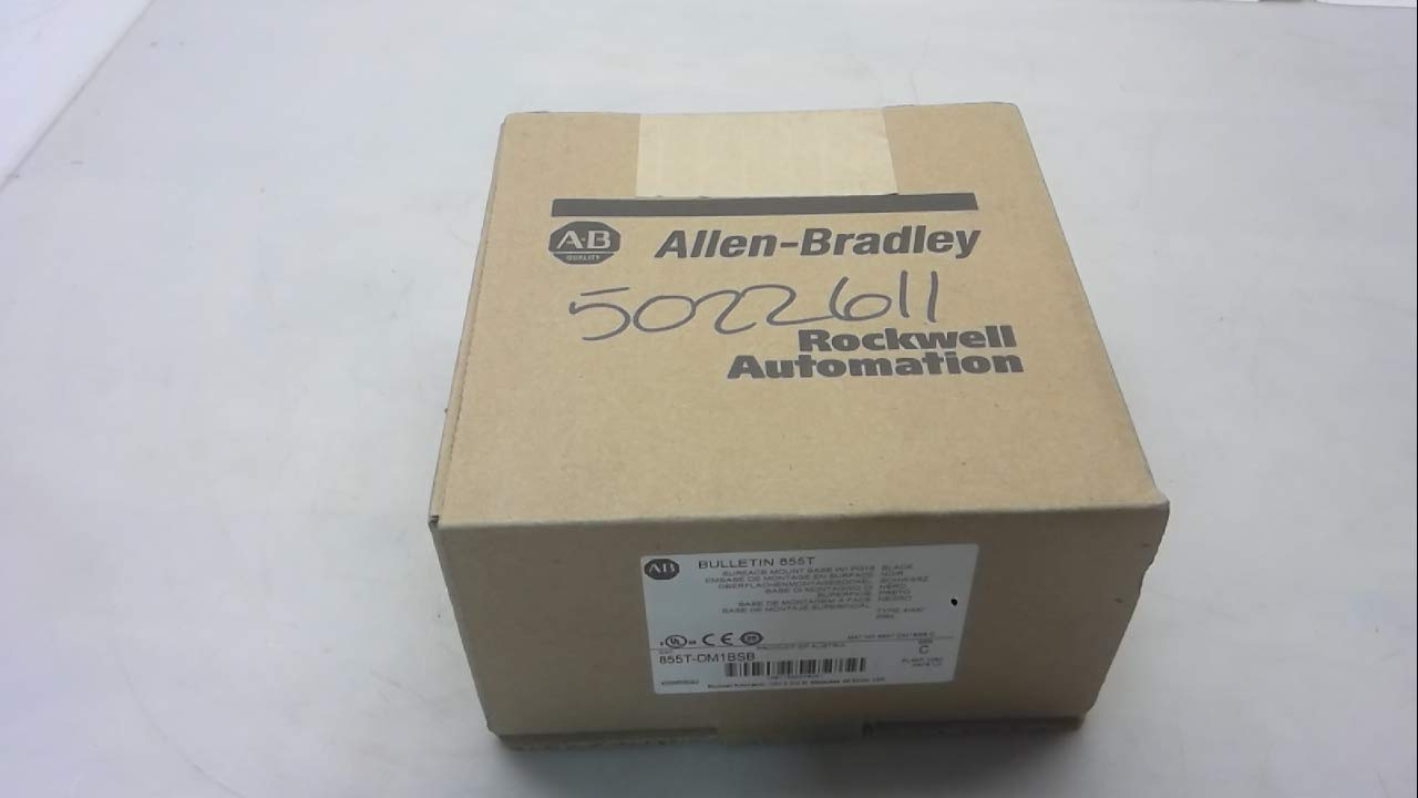 Allen Bradley 855T-Dm1bsb Series C Stack Light Base, Surface Mount, 855T-Dm1bsb Series C