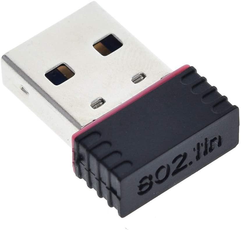 XinQuan Wang MT7601 Mini USB WiFi Adapter 802.11n Antenna 150Mbps USB Wireless Receiver Dongle Network Card External Wi-Fi for Desktop Laptop