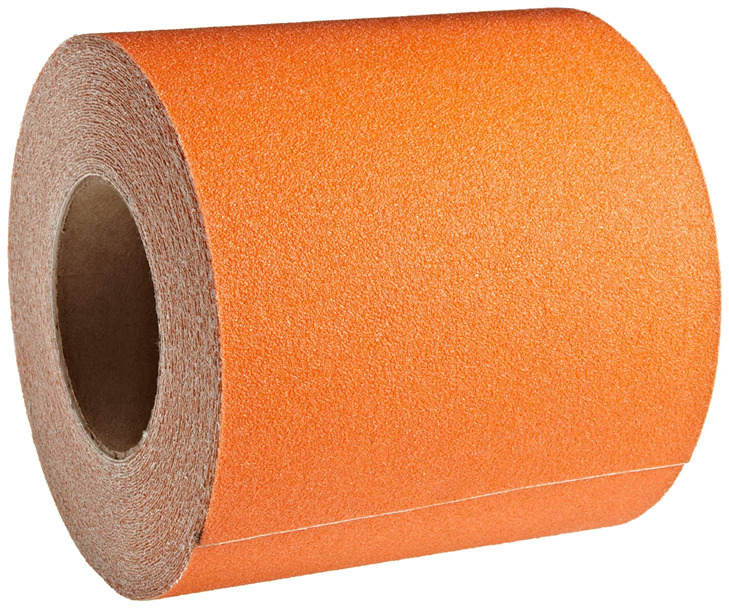 Jessup Safety Track 3320 Commercial Grade Non-Slip High Traction Safety Tape (60-Grit, Safety Orange, 6-Inch x 60-Foot Roll, Pack of 2)