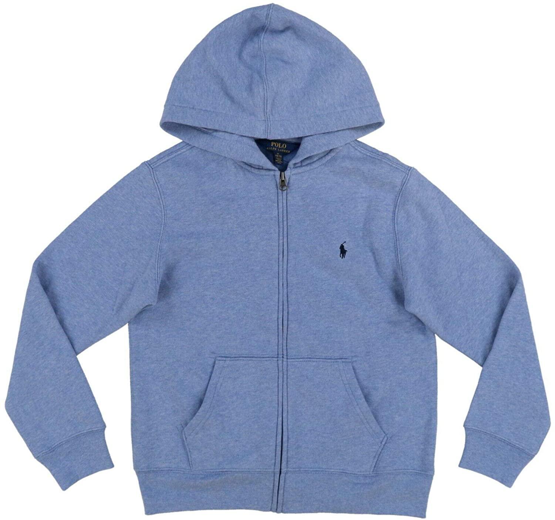 Polo Ralph Lauren Boys Full Zip Hoodie Sweatshirt